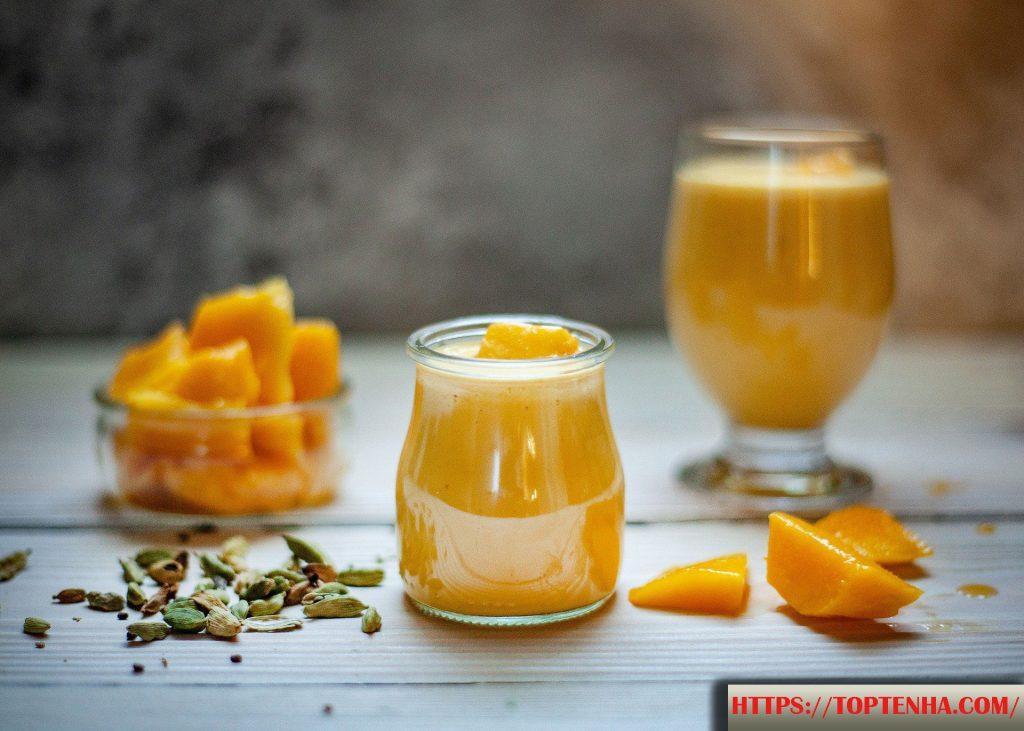 ماسک انبه با زردچوبه و لیمو ترش