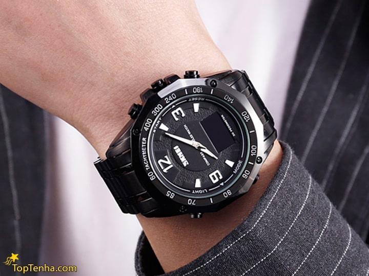 ساعت مچی عقربه ای مردانه اسکمی مدل 1155 M-NP